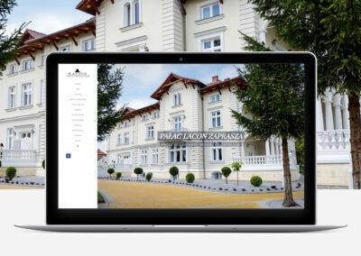 Hotel Lacon Web Design